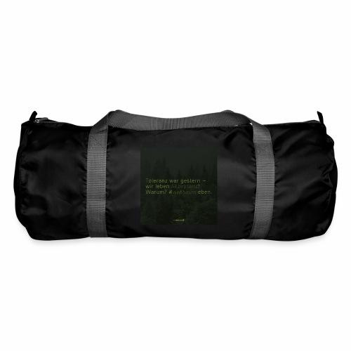 #weilbaum-T-Shirt Akzeptanz - Sporttasche