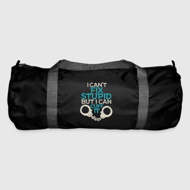 Stupidity Stop - Police - Handcuffs - Duffel Bag