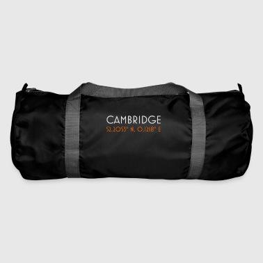 Cambridge England minimalistische Koordinaten - Sporttasche