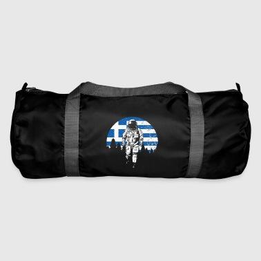 Astronaut Greece flag - Duffel Bag