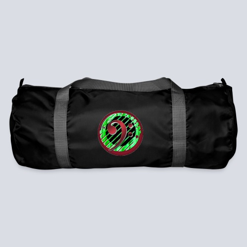 BassClef red green - Duffel Bag