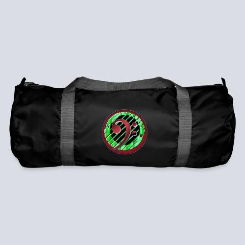 BassClef red green - Duffel Bag
