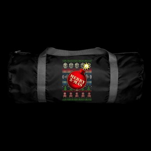 Merry X-Mas Christbaumkugel-Bombe - Sporttasche