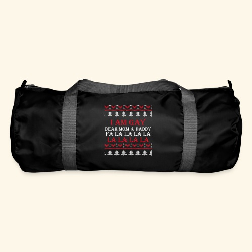 Gay Christmas sweater - Torba sportowa