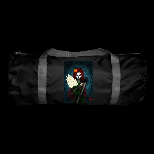 Death and lillies - Duffel Bag