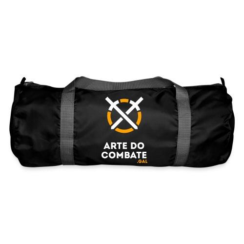 Logo «Arte do Combte» vertical sobre fundo preto - Bolsa de deporte