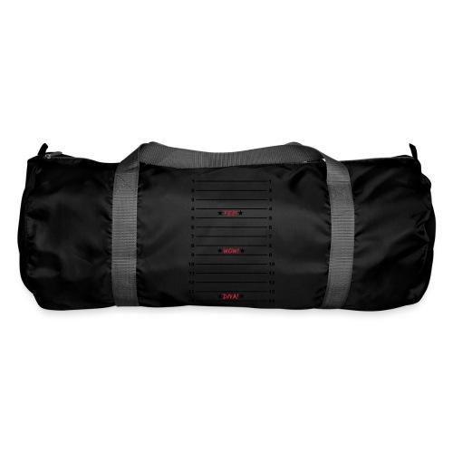 Yes Wow Diva Length Check T-Shirt - Duffel Bag