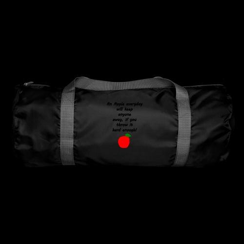 Apple Apfel Doctor Zitat Spruch Lustig - Sporttasche