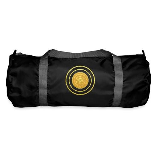 Glückssymbol Sonne - positive Schwingung - Spirale - Sporttasche