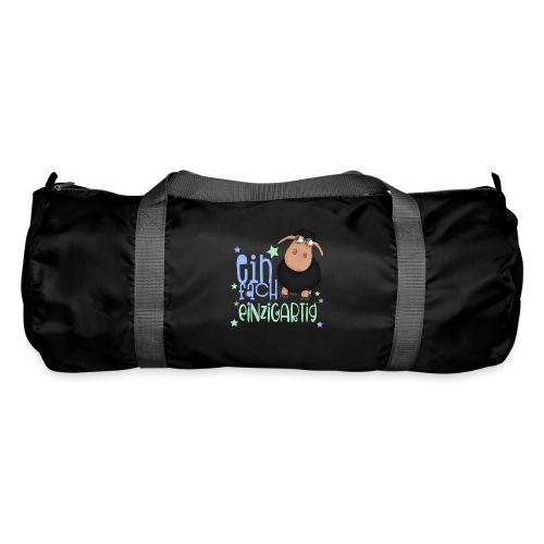 Einfach einzigartig: schwarzes Schaf kleines Schaf - Sporttasche