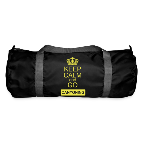 keep calm and go canyoning 2 - Sporttasche