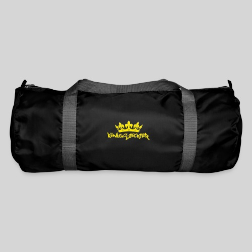 Königstochter m. Krone über der stylischen Schrift - Sporttasche