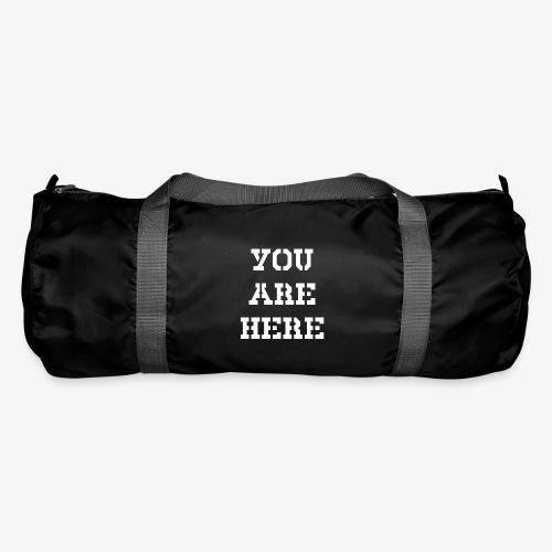 YOU ARE HERE - Sporttasche