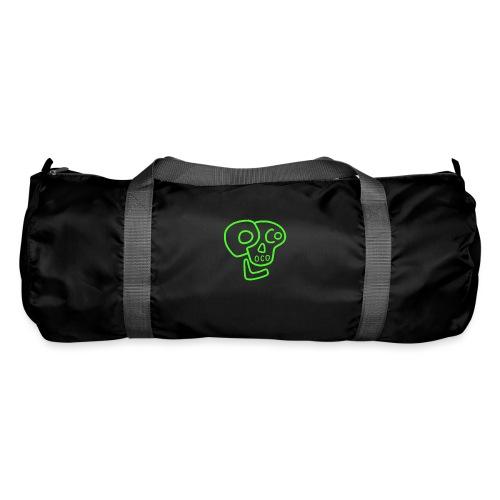 poco loco logo green - Duffel Bag
