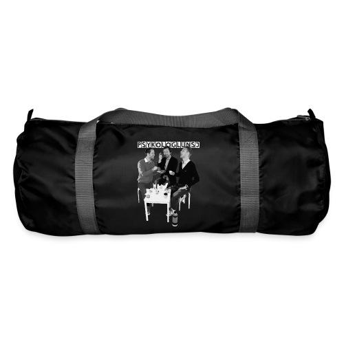 psykologlunsj greyscale hvitlogo paitning png - Sportsbag