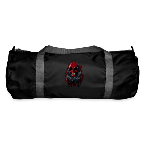 Red Skull in Chains - Duffel Bag