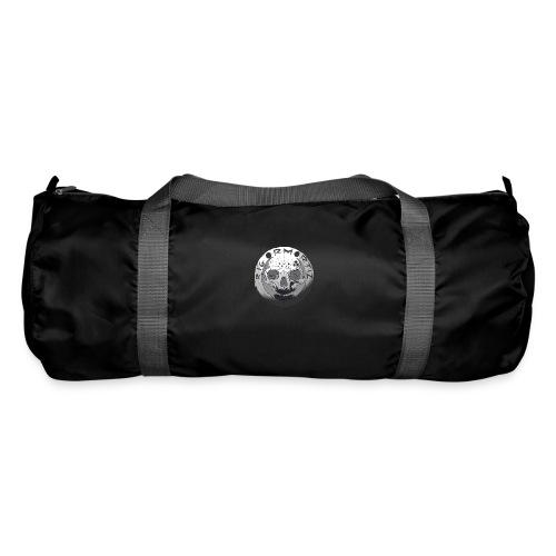Rigormortiz Black and White Design - Duffel Bag