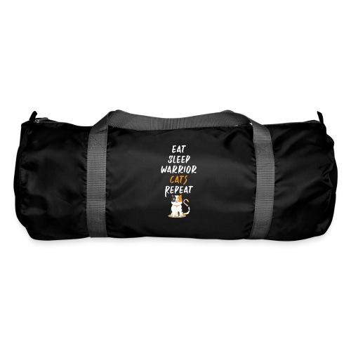 Eat sleep warrior cats repeat - Sac de sport