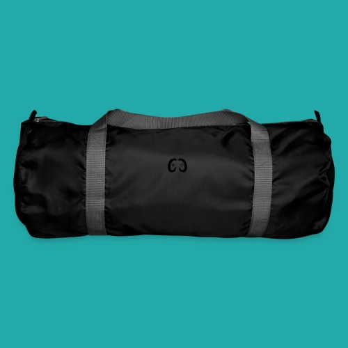 Crowd Control Controller Logo Black Large - Duffel Bag