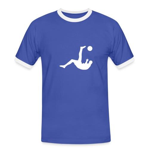 RovesciataB - Maglietta Contrast da uomo