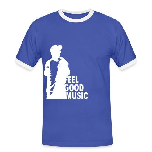 feelgoodmusic - Männer Kontrast-T-Shirt