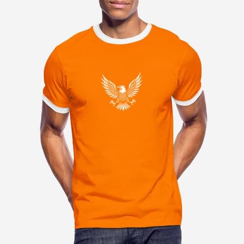 eagle usa american - Männer Kontrast-T-Shirt