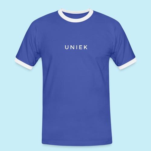 Uniek - T-shirt contrasté Homme