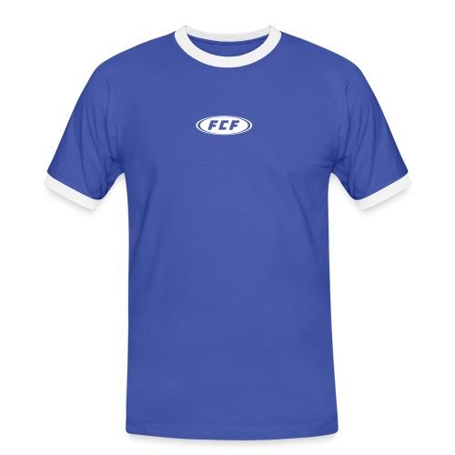 FCF Signet - Männer Kontrast-T-Shirt