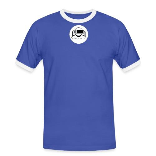 logo tshirt white - Men's Ringer Shirt
