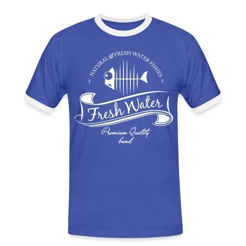 FreshWater 28cm Breite - Männer Kontrast-T-Shirt