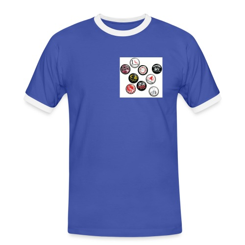 badgesCB - T-shirt contrasté Homme