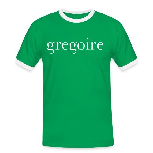 gregoire logo - T-shirt contrasté Homme