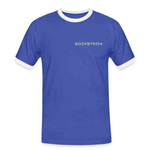 cooles Rockstroh Kontrast-Shirt - Männer Kontrast-T-Shirt