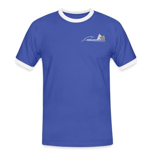 VR Logo WT png - Männer Kontrast-T-Shirt