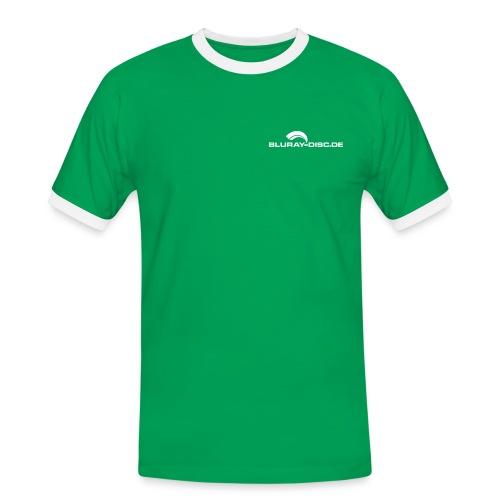 logo klein - Männer Kontrast-T-Shirt