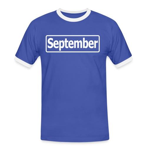 september2 - Männer Kontrast-T-Shirt