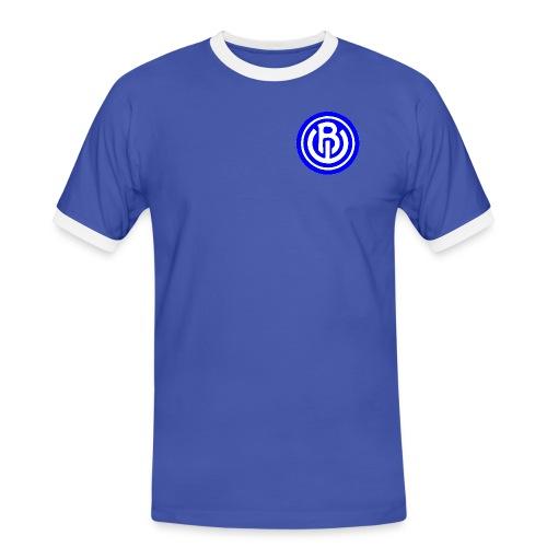 LOGO BWtransparant gif - Mannen contrastshirt