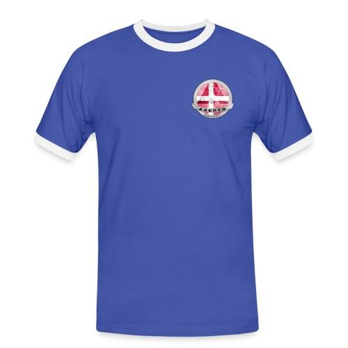 adepto logo redigeret2 png - Herre kontrast-T-shirt