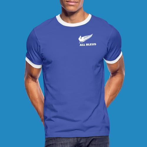 all_bleus_logo_white - T-shirt contrasté Homme