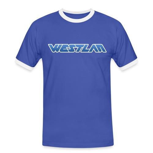 WestLAN Logo - Men's Ringer Shirt