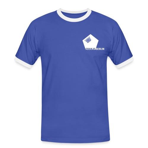 logowhite - Männer Kontrast-T-Shirt