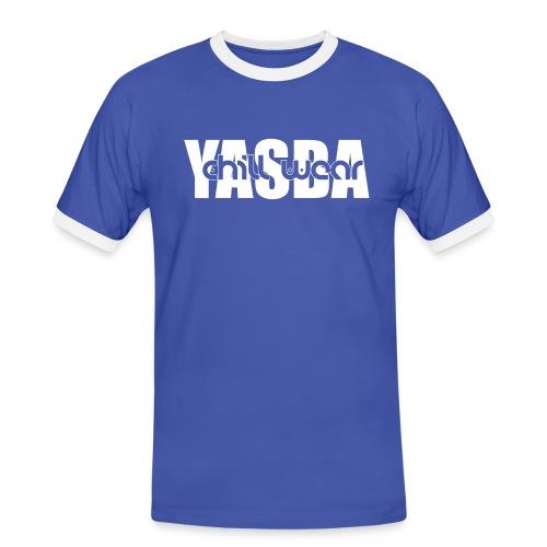 Yasba Chill Wear 1 White png - Men's Ringer Shirt