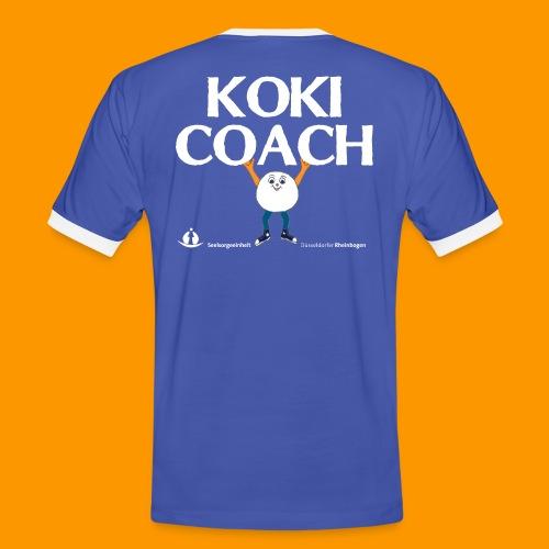 Koki Coach_MK - Männer Kontrast-T-Shirt