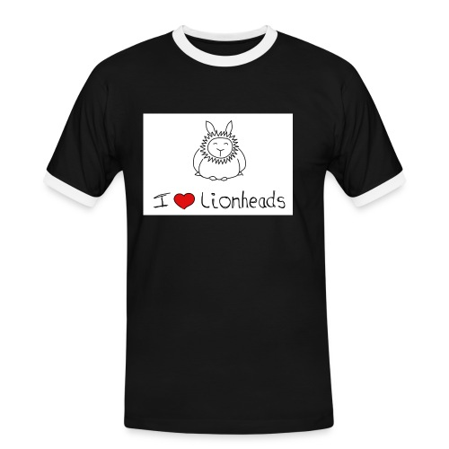 I Love Lionheads - Men's Ringer Shirt