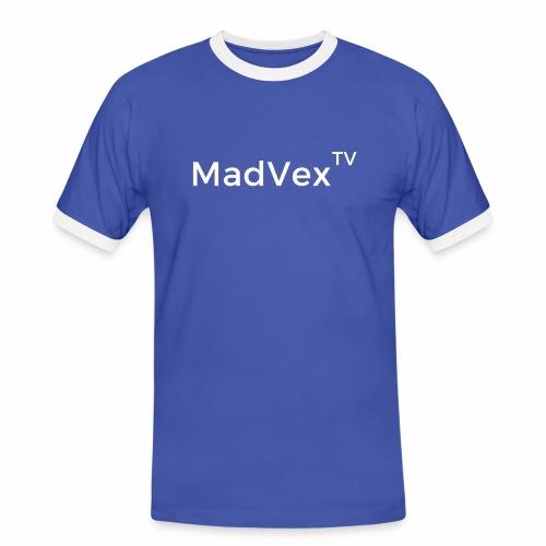MadVexTV Schriftzug - Männer Kontrast-T-Shirt