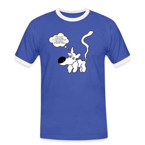 DD - Whoever said... - Kontrast-T-skjorte for menn