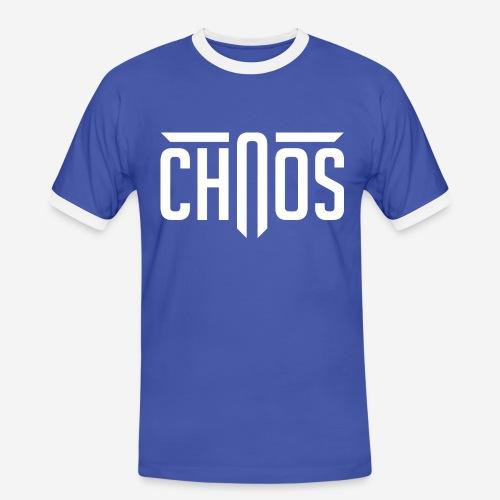 chaos - Männer Kontrast-T-Shirt