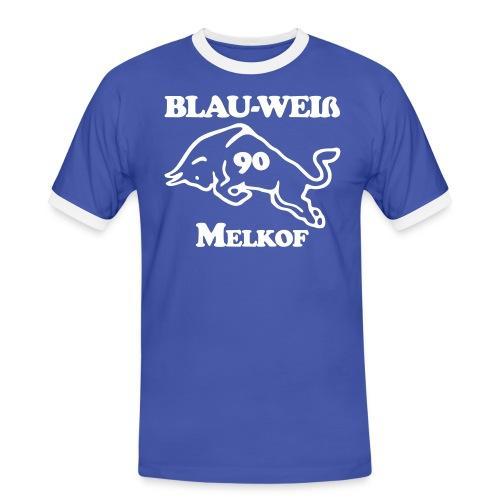 logo alternative zweifarbig35 - Männer Kontrast-T-Shirt
