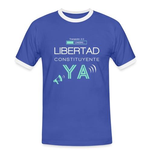 Libertad Constituyente ¡YA! - Camiseta contraste hombre