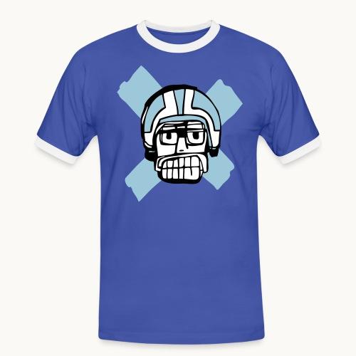 Motard Junior - Blue - T-shirt contrasté Homme